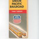 Vintage Union Pacific Railroad Time Tables 1954