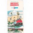 Vintage Amtrak Northeast Schedules 1975 Not PDF
