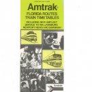 Vintage Amtrak Florida Routes Train Timetables 1976 Not PDF