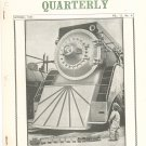 Vintage The Train Collectors Quarterly October 1965  Not PDF Free USA Shipping Offer