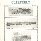 Vintage The Train Collectors Quarterly April 1964  Not PDF Free USA Shipping Offer