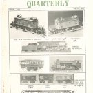 Vintage The Train Collectors Quarterly January 1964  Not PDF Free USA Shipping Offer
