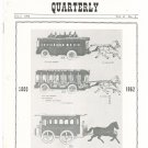 Vintage The Train Collectors Quarterly July 1962  Not PDF Free USA Shipping Offer