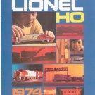 Vintage Lionel HO Scale Trains Catalog 1974 Not PDF