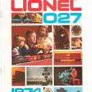 Vintage Lionel O/O27 Scale Trains Catalog 1974 Not PDF