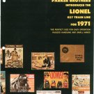 Vintage Parker Introduces 027 Lionel Trains Catalog 1971 Not PDF Free Shipping Offer