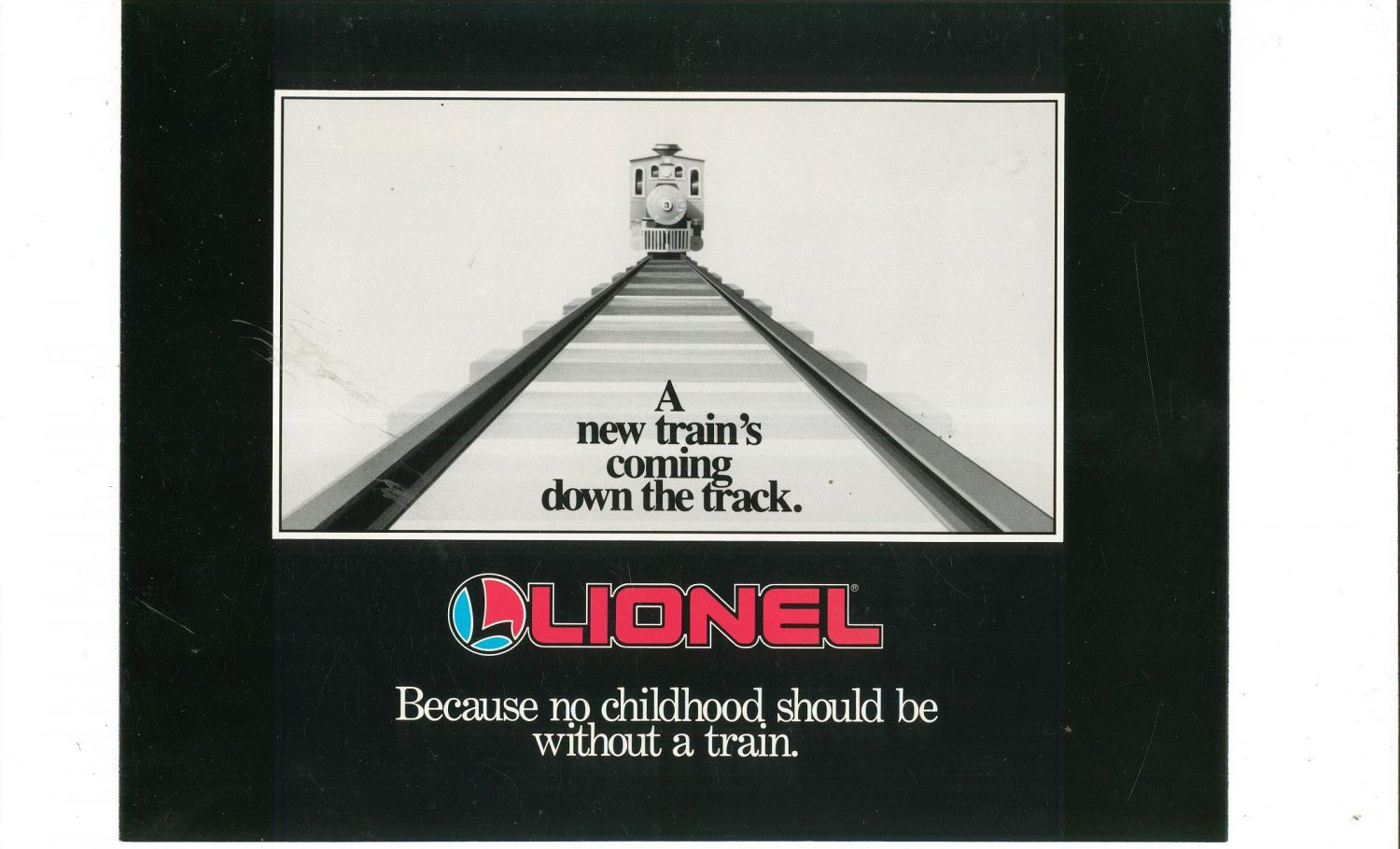 Vintage Lionel Large Scale Introduction Trains Brochure 1987 Not PDF Free Shipping Offer