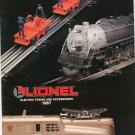 Vintage Lionel Electric Trains & Accessories Catalog 1987 Not PDF Free Shipping Offer