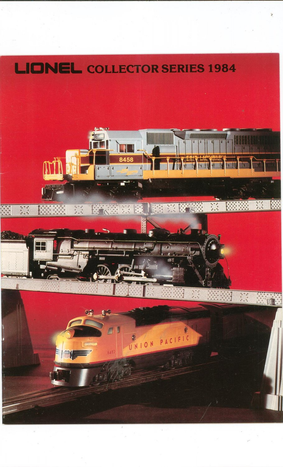 Vintage Lionel Collector Series Trains Catalog 1984 Not PDF Free Shipping Offer