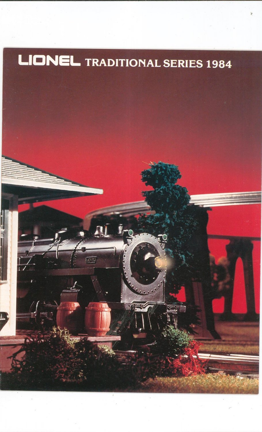 Vintage Lionel Traditional Series Trains Catalog 1984 Not PDF Free Shipping Offer