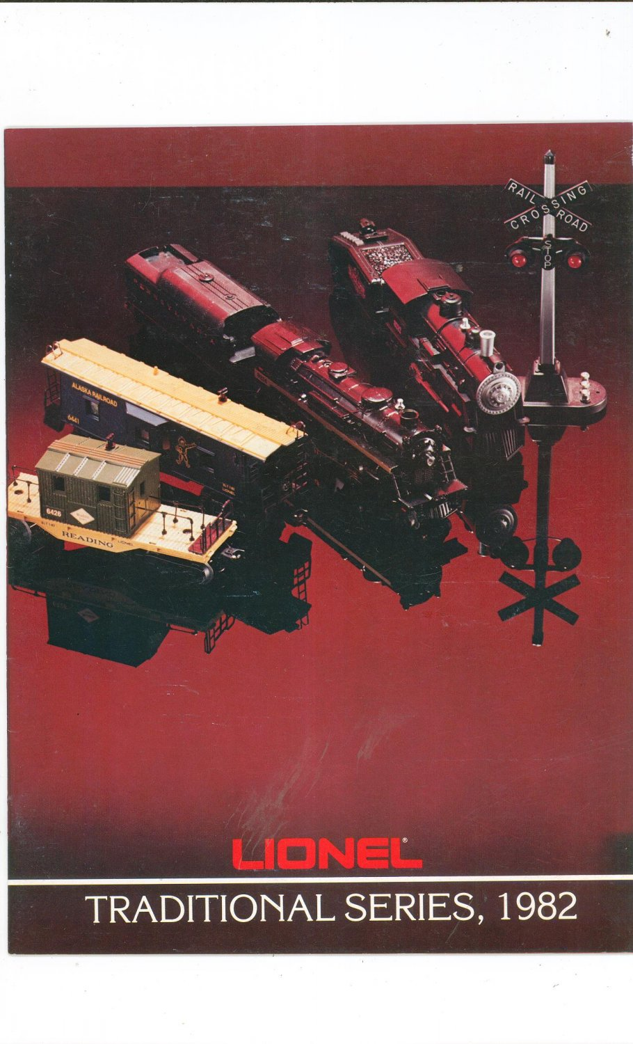 Vintage Lionel Traditional Series Trains Catalog 1982 Not PDF Free Shipping Offer