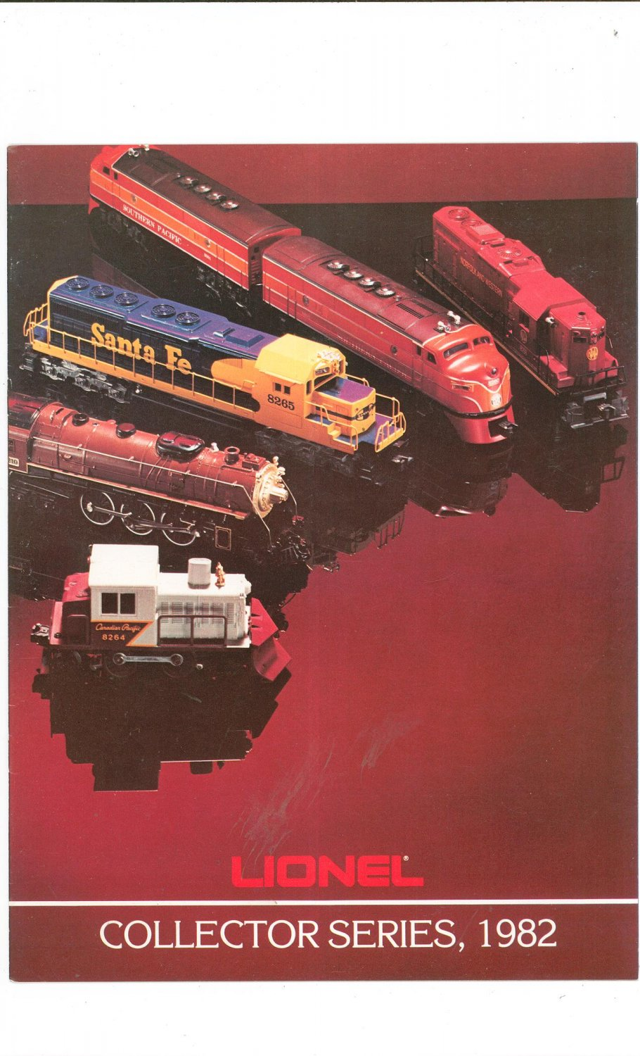 Vintage Lionel Collector Series Trains Catalog 1982 Not PDF Free Shipping Offer