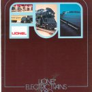 Vintage Lionel Electric Trains Catalog 1980 Not PDF Free Shipping Offer