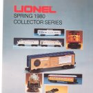 Vintage Lionel 1980 Spring Collector Series Trains Brochure Not PDF Free Shipping Offer