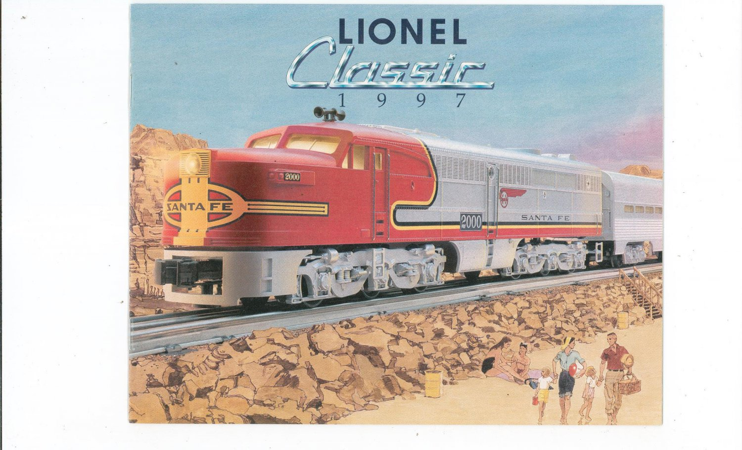 Lionel Classic Trains Catalog Fall 1997 Not PDF Free Shipping Offer