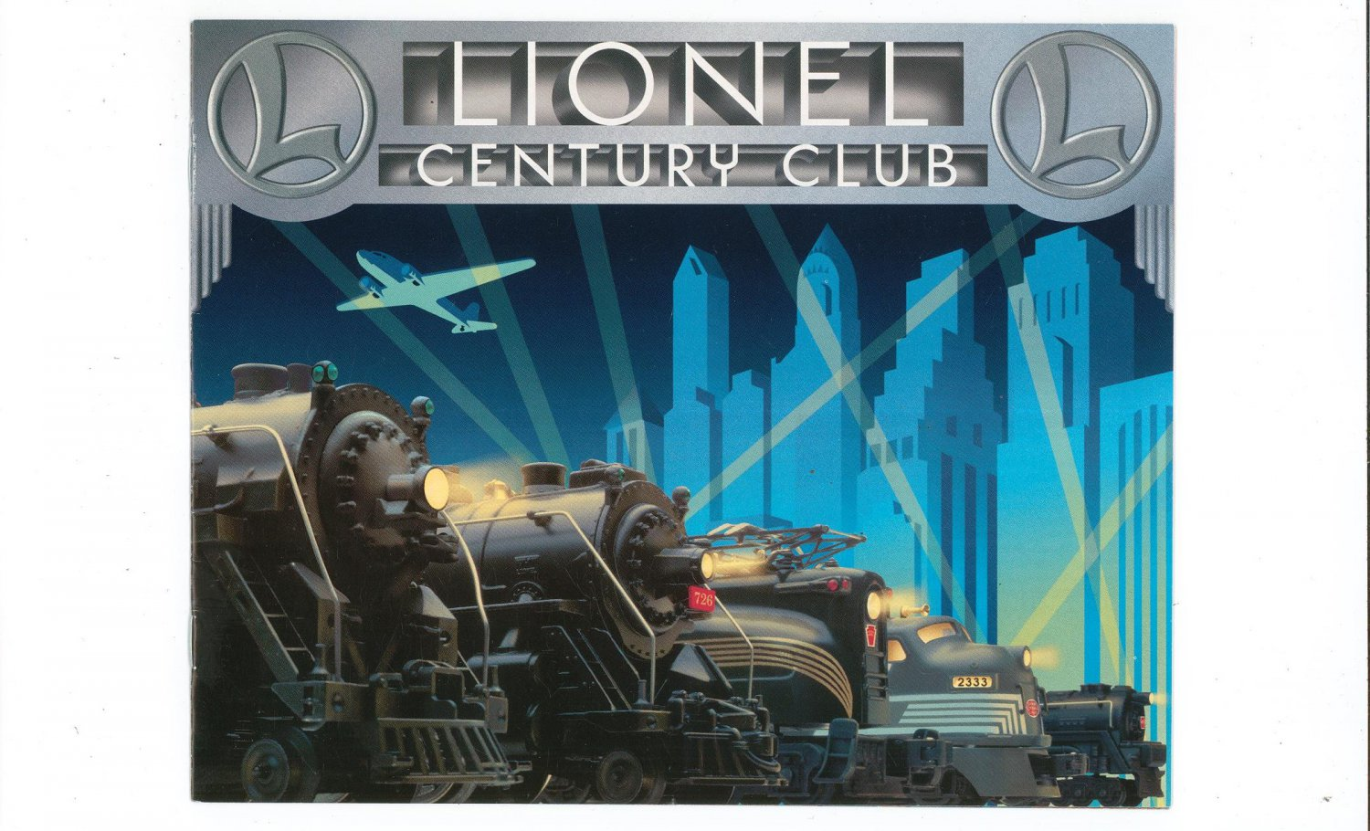 Lionel Century Club Trains Catalog 1996 Not PDF Free Shipping Offer