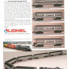 Lionel New York Central Passenger Car Set Advertisement 1995 Not PDF Free Shipping Offer