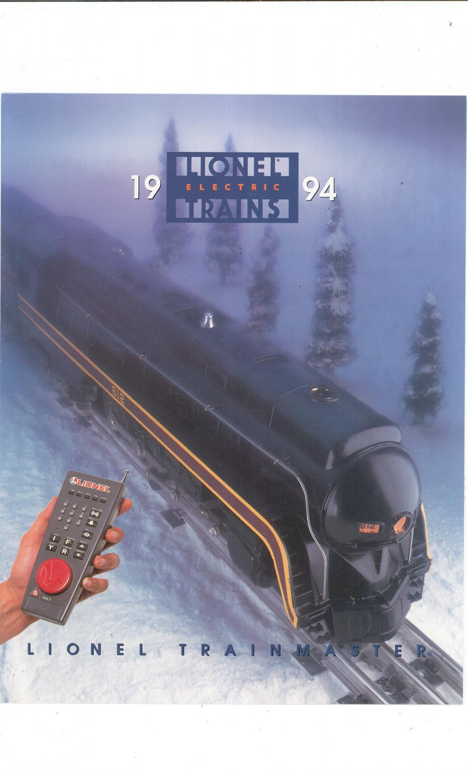 Lionel Train Master 1994 Brochure Not PDF Free Shipping Offer
