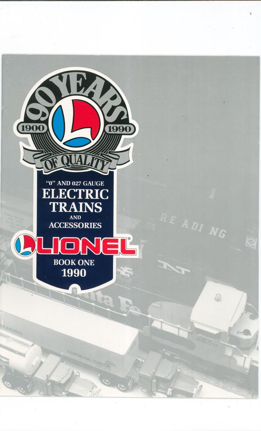 Lionel Electric Trains & Accessories O & O27 Catalog One 1990 Not PDF Free Shipping Offer