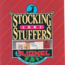 Lionel 1991 Stocking Stuffers Brochure Not PDF Free Shipping Offer