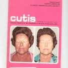 November 1971 Cutis Cutaneous Medicine For The Practitioner Magazine Vintage Dermatologic Society