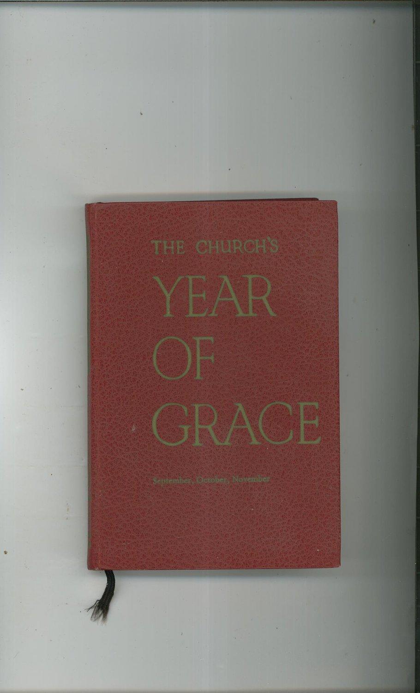 Vintage The Church's Year Of Grace September October November Volume V Parsch Liturgical Press