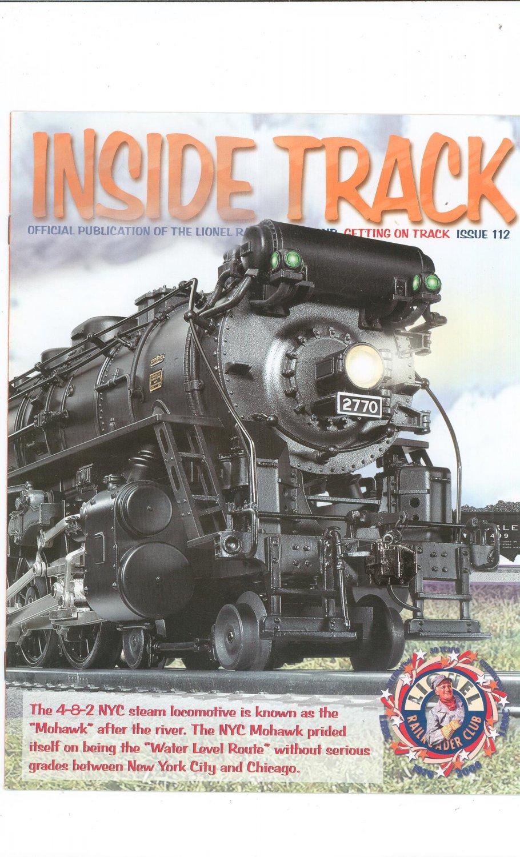 Lionel Railroader Club Inside Track  Issue 112 Not PDF Train