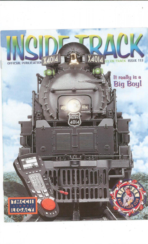 Lionel Railroader Club Inside Track  Issue 113 Not PDF Train
