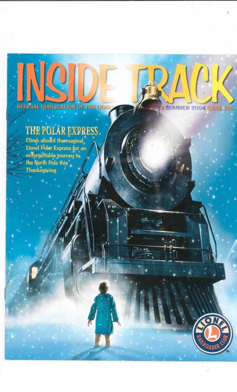 Lionel Railroader Club Inside Track Summer 2004 Issue 105 Not PDF Train