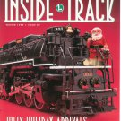 Lionel Railroader Club Inside Track Winter 1999 Issue 87 Not PDF Train Free Shipping Offer