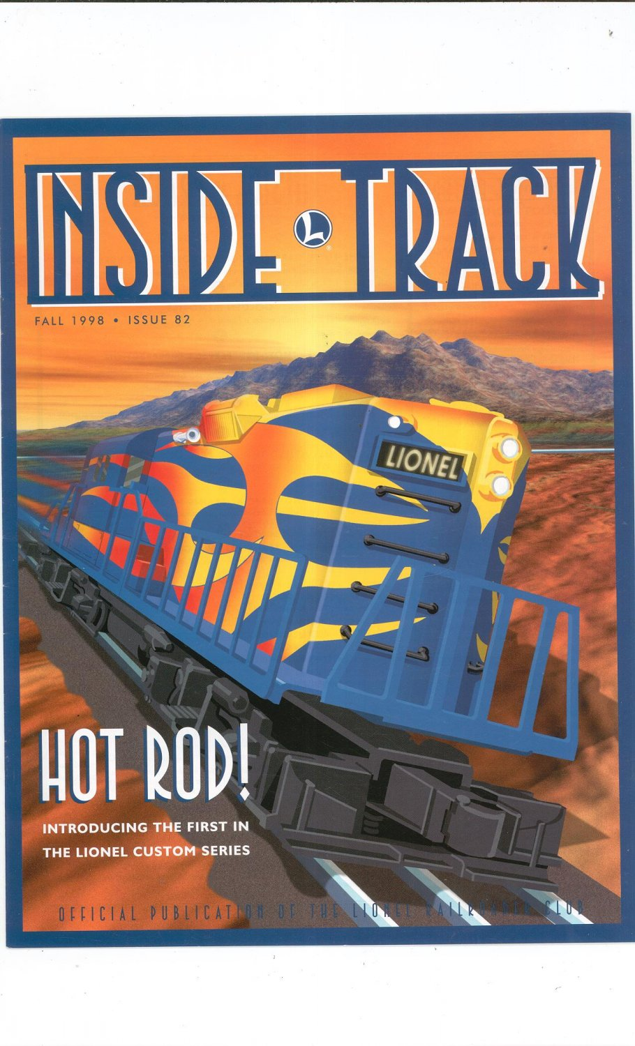 Lionel Railroader Club Inside Track Fall 1998 Issue 82 Not PDF Train Free Shipping Offer