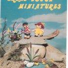 Vintage Bread Dough Miniatures Craft Course Publishers 1973