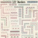 Border Collection Leisure Arts Leaflet 2021 Mary Scott127 Borders