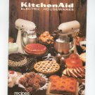 kitchenaid Electric Housewares Recipes Instructions Cookbook Mixer K5SS K45SS