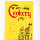 St. Augustine Cookery Cookbook The Flagler Hospital Auxiliary Florida