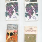 Bridge Tallies Lot Of 4 Assorted Packages By Congress Contempo Caspari Two Table