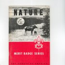 Vintage Boy Scouts Of America BSA Nature Merit Badge