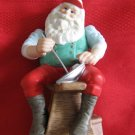 Hallmark The Toy Maker Porcelain Figurine With Box Sailboat From Santa