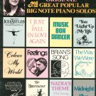Monica Scott Original Plus 12 Great Popular Big Note Piano Solos