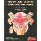 Vintage How An Auto Engine Works Renwal Visible V-8 Assembly Kit Brochure