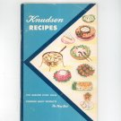 Vintage Knudsen Recipes Cookbook 1955