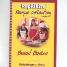 Fleischmann's Rapidtise Recipe Collection Volume 1 Cookbook Bread Basics