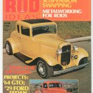 Vintage 1001 Custom And Rod Ideas Magazine June 1976 Not PDF