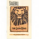The Lion King Stagebill New Amsterdam Theatre 2000 Souvenir