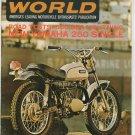 Vintage Cycle World Magazine February 1968 650 BSA Yamaha 250 Not PDF