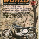 Vintage Cycle World Magazine June 1968 Montesa Yamaha  Not PDF
