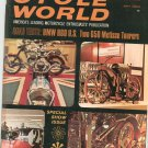 Vintage Cycle World Magazine July 1968 BMW Metisse  Not PDF