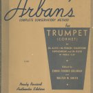 Vintage Arbans Complete Conservatory Method For Trumpet New American Edition Fischer