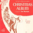 Vintage Rudolph's Christmas Album Weybright The Red Nosed Reindeer Belwin