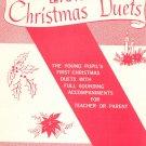 Vintage Let's Play Christmas Duets Zepp Pro Art 605